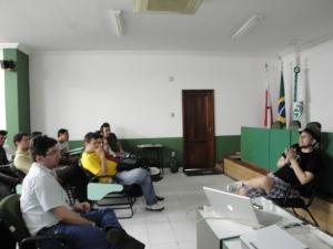 Alexandre Porcelli num bate-papo sobre Open Source