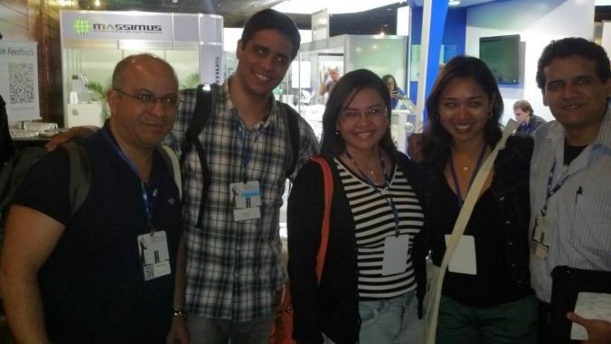 Nosso grande amigo Rildo Santos marcando presença no evento!