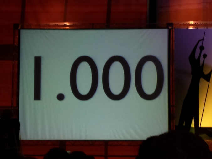 Quantidade recorde de inscritos no #AgileBR.