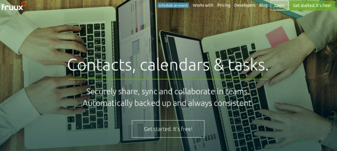 Página do fruux